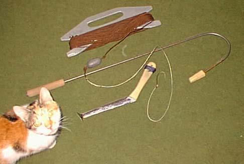 Как сделать кошку для подводного вылавливания